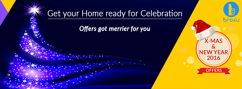 Bro4u Christmas Offer Offers Got Merrier For You