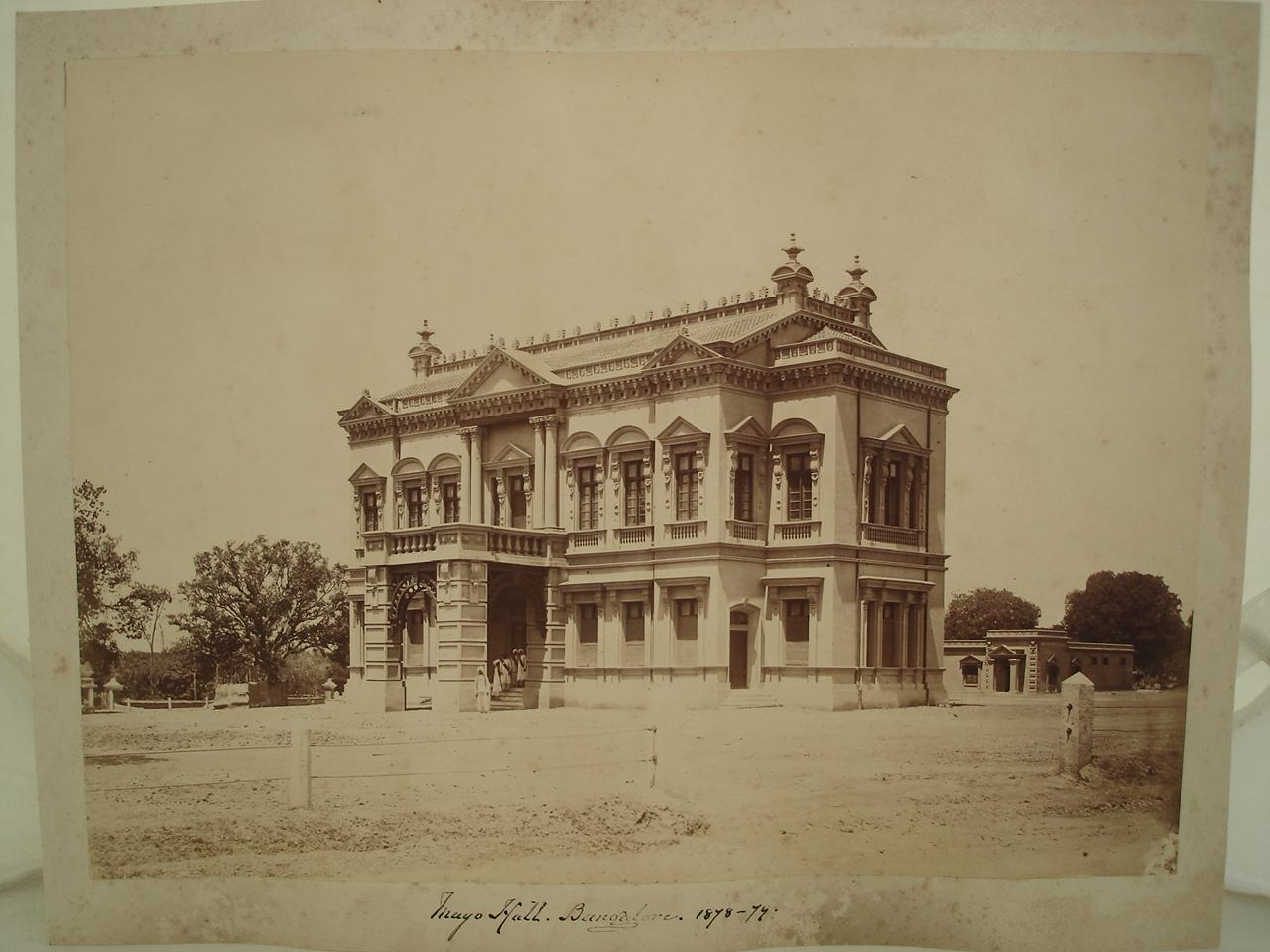 Mayo Hall in Bangalore (Bengaluru) - 1878-79