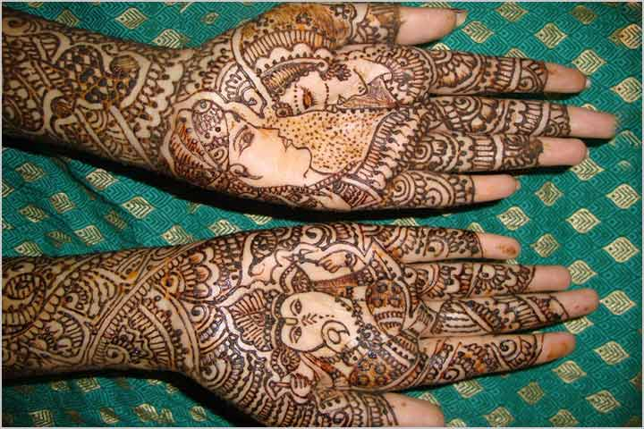 Mehndi Designs For Dulha : Trending wedding mehndi designs which are bollywood s favourite