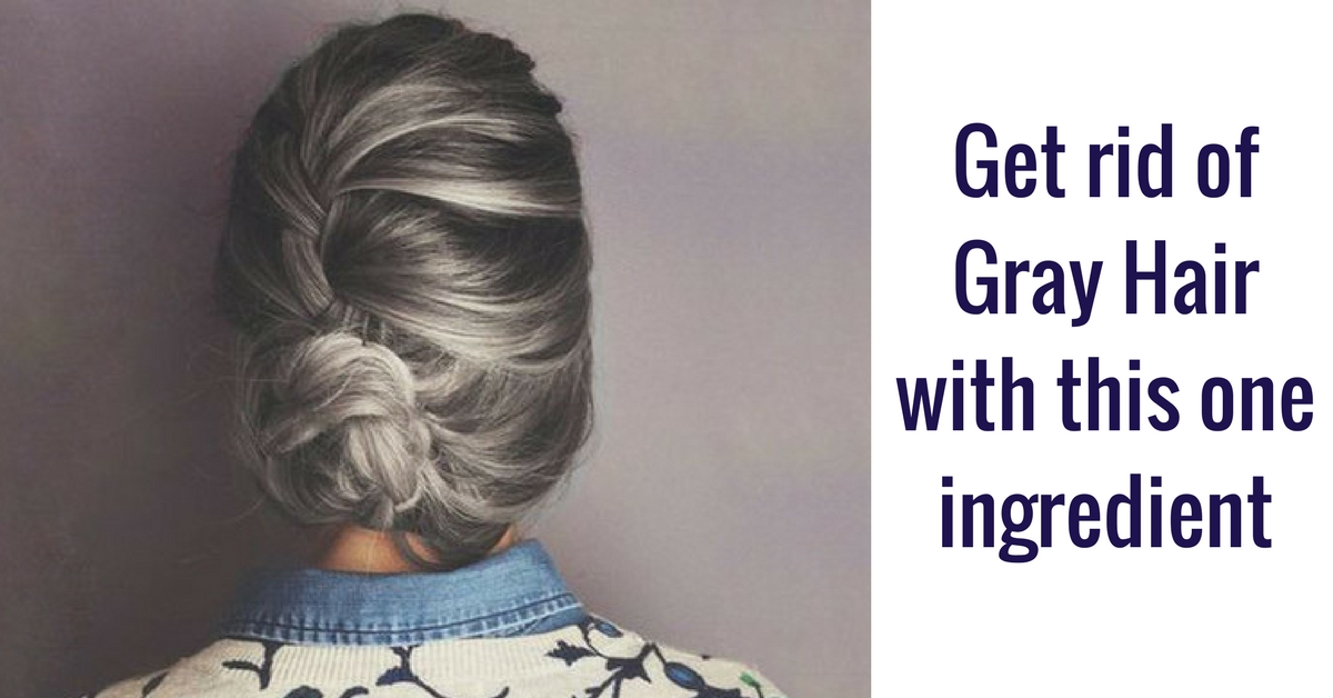 Remove Yellow From Gray Hair Naturally