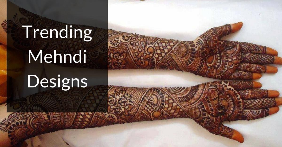 Full Arm Mehndi Designs : 10 mehndi designs crafted for a perfect wedding preparation bro4u blog