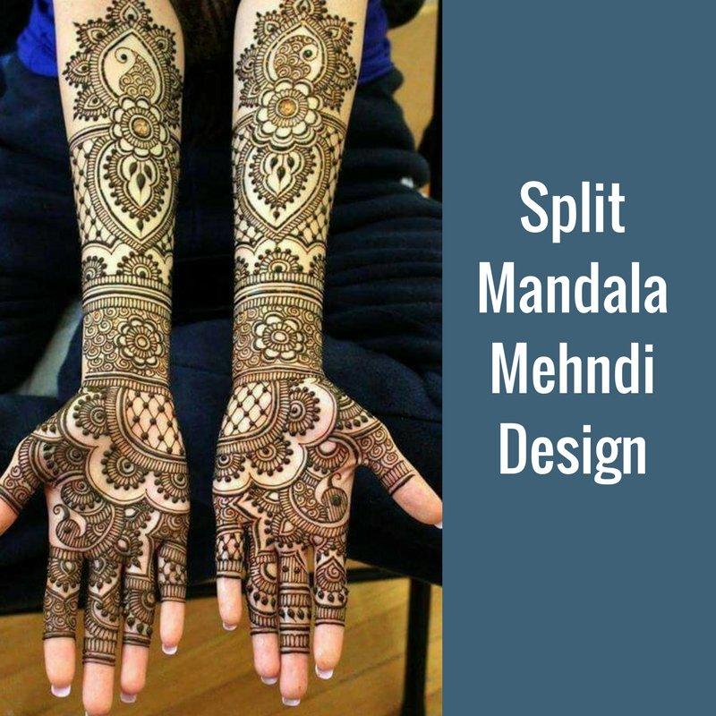 Raja Rani Bridal Mehndi Designs : Mehndi designs crafted for a perfect wedding